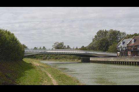 A27 arundel b river arun bridge widening Knight Architects